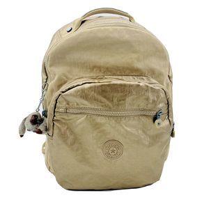 """Kipling Seoul Gold Metallic 15"""" Laptop Backpack"""